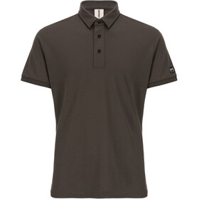 super.natural Essential Shortsleeve Shirt Men brown